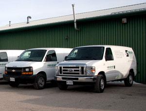 Nick's Quick Delivery - Vans