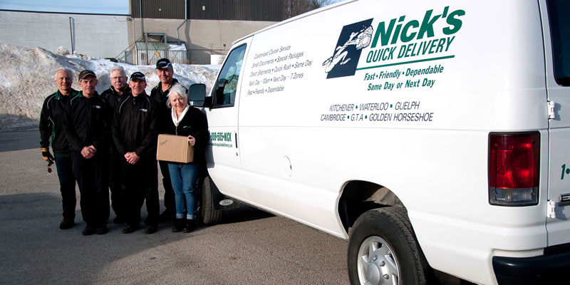 Nick's Quick Delivery - Personnel
